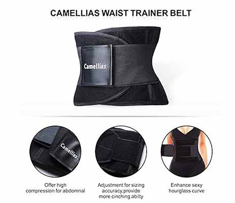 2.SHAPERX-Waist-Trainer-Belt-Body-Shaper-Belly-Wrap-Trimmer-Slimmer-Compression-Band-for-Weight-Loss-Workout-Fitness-31