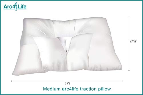 1. Arc4life Cervical Neck Traction Pillow-2