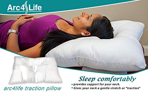 1. Arc4life Cervical Neck Traction Pillow3