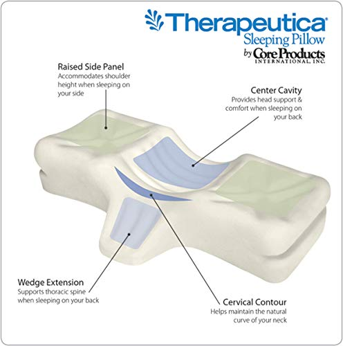 2. Therapeutica Orthopedic Sleeping Pillow