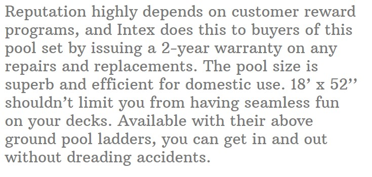 Intex Ultra XTR 18' x 52'' Pool Set with Ladder and Cover