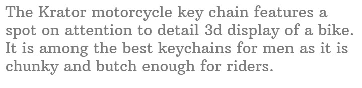 #7.Krator_New_3D_Motorcycle_Cruiser_Bike_Key_chain