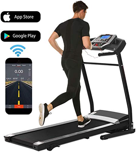 Ncient Electric Treadmill with Smartphone APP Control