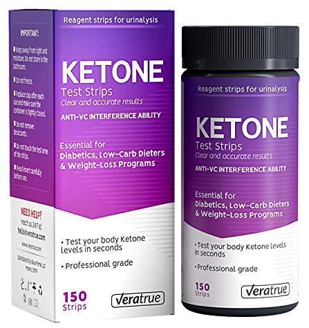 Verature Test Strips for Ketone
