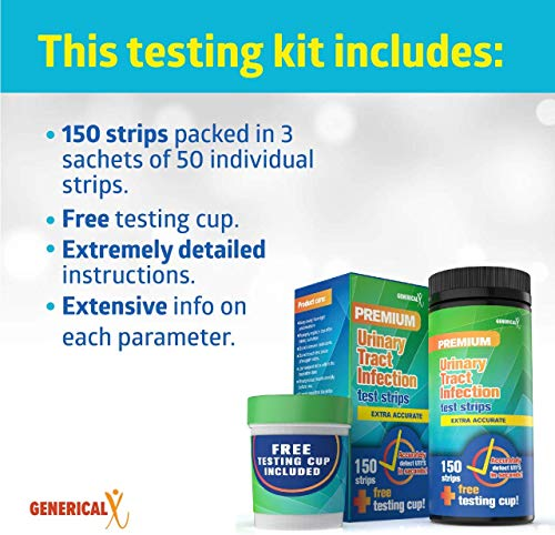 Generical X Urinary Tract Infection (UTI) Test Kit