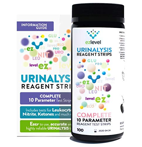 EZ Level 100 Urinary Tract Infection UTI Test Strips