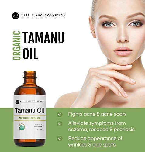 Kate Blanc Tamanu Oil for Face and Skin