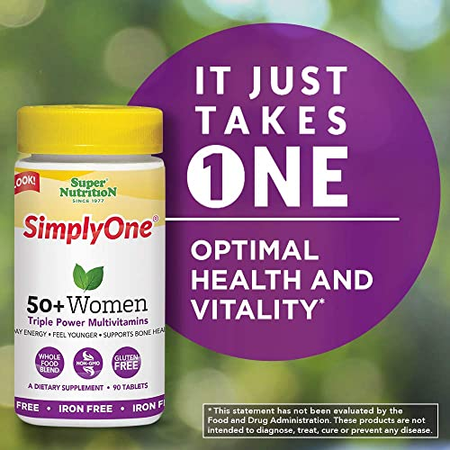 SuperNutrition Simply One 50+ Women Iron