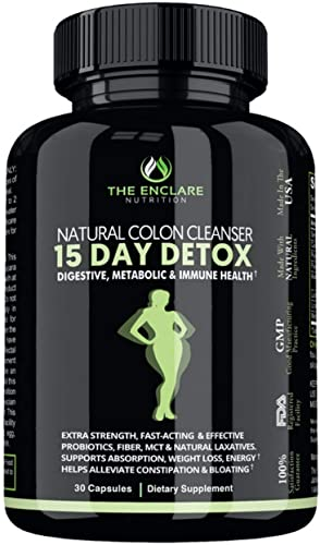 Detox and Colon Cleanse for Weight Loss