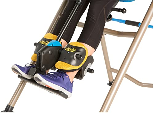 Inversion Table with Airsoft Ankle Holders 475SSL from Exerpeutic