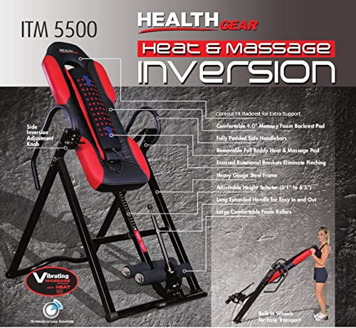 ITM5500 Inversion Table from Health Gear