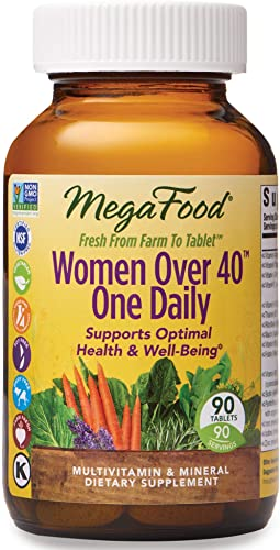MegaFood – Women Over 40 One Daily, Multivitamin Support