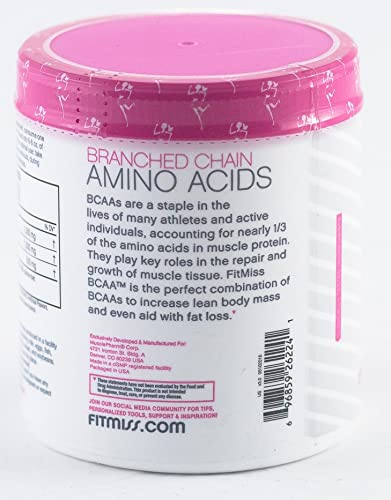FitMiss Women's BCAA for Post-Workout Recovery