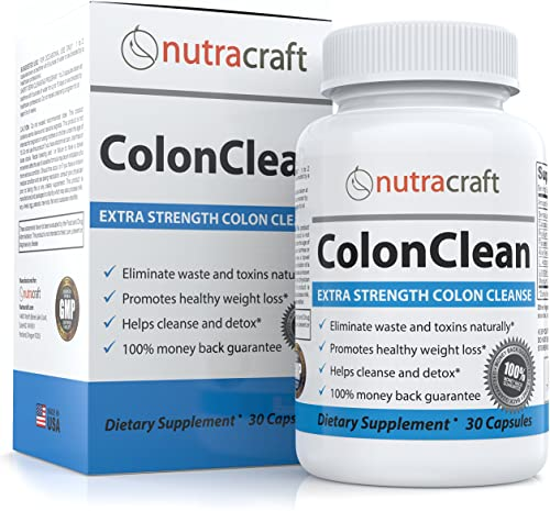 Herbal Laxative Supplement and Colon Detox for Constipation and Weight Loss