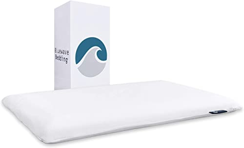 Gel-Infused Slim Memory Foam Cooling Pillow from Bluewave Bedding