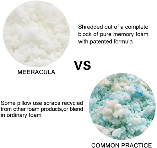 Memory Foam Cooling Pillow with Aloe Vera from Meeracula